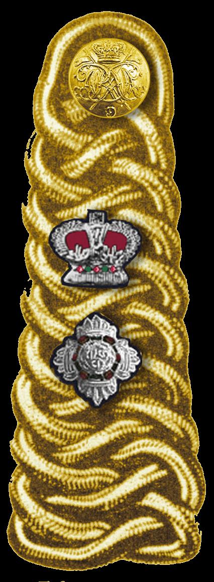 погоны подполковника британской армии