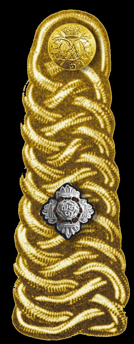 погоны лейтенанта британской армии
