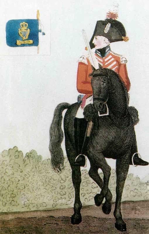 Униформа Королевских Ирландских драгун