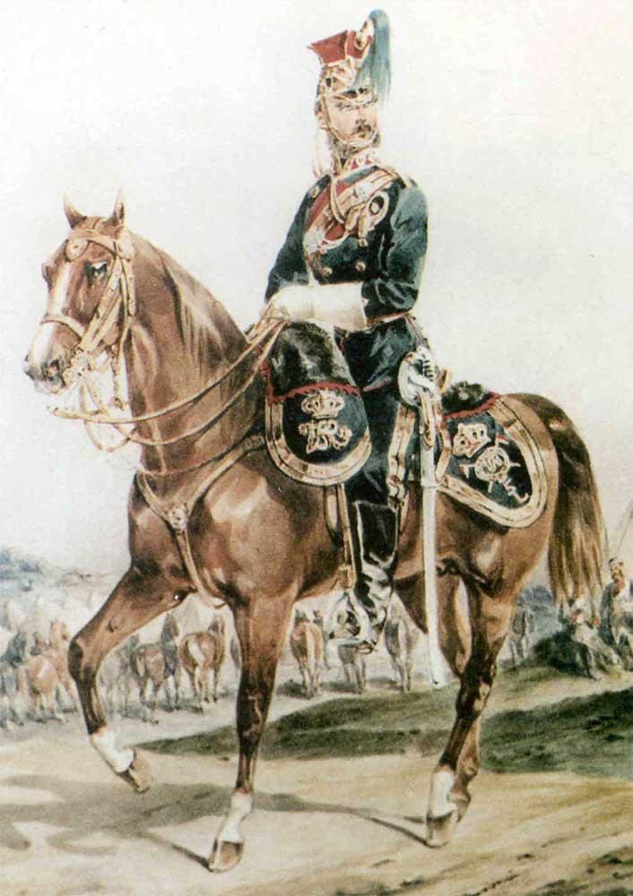 Униформа 5 полка Королевских Ирландских улан