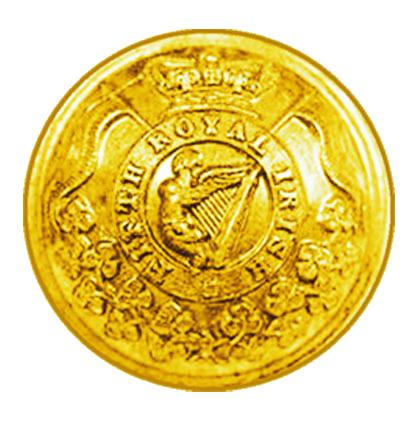 Пуговица офицера 5 уланского полка.