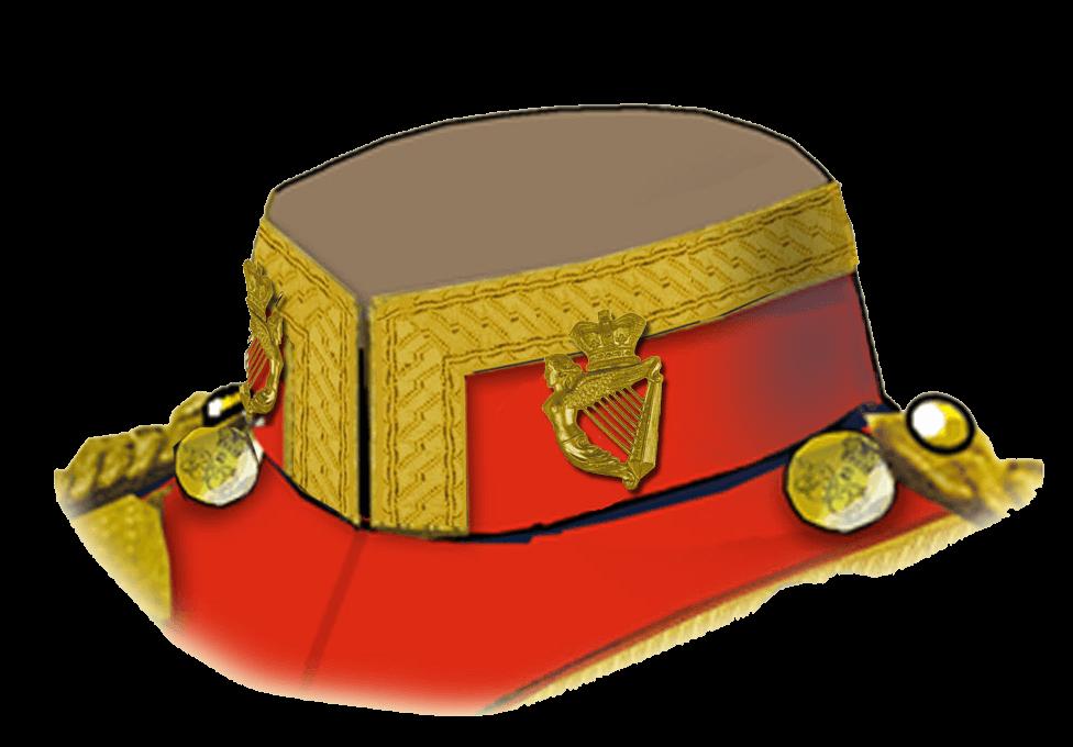 Полковая эмблема - 5 Королевский Ирландский Уланский полк