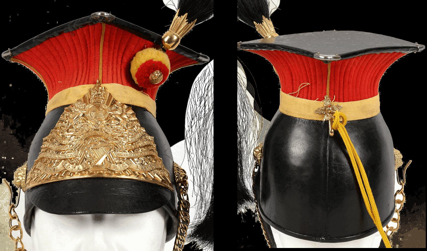шапка рядового 5 Королевского Ирландского уланского полка