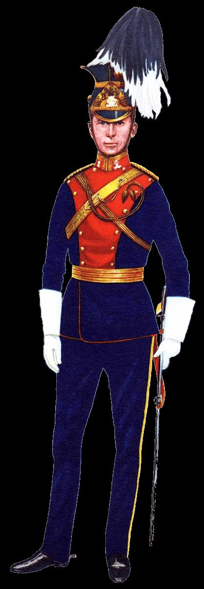 Полная униформа капитана 9 уланского полка, 1939 год.