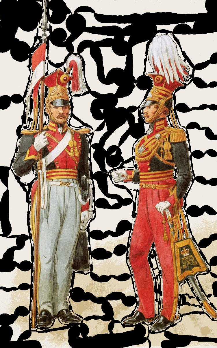 униформа британских уланов