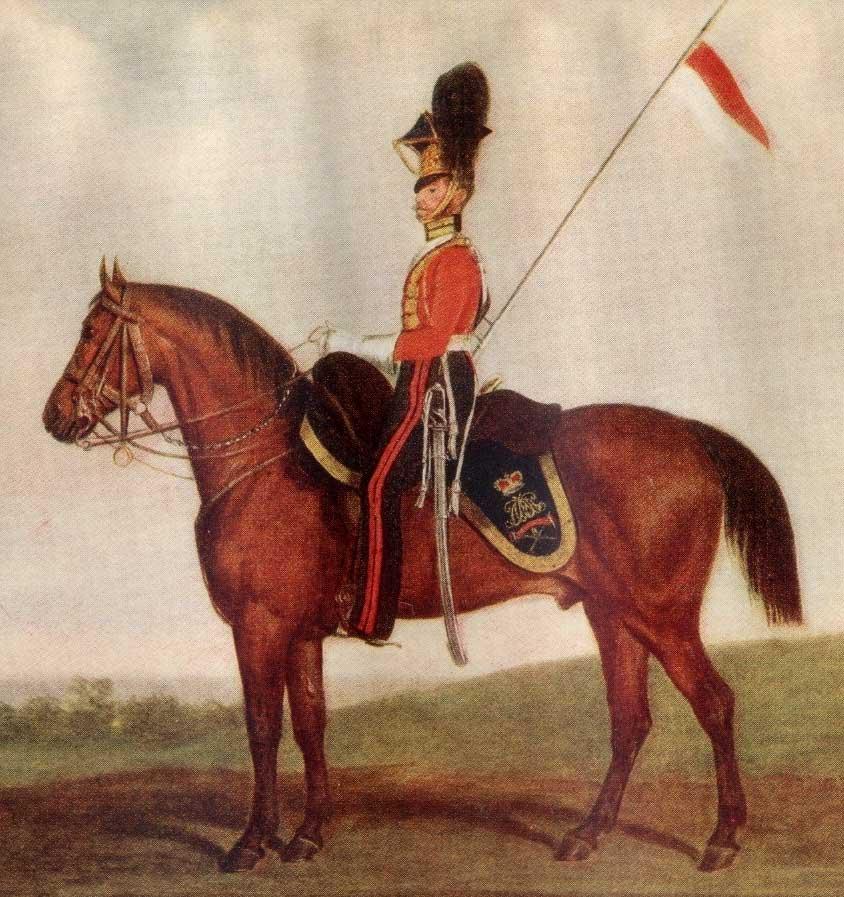 униформа британского улана