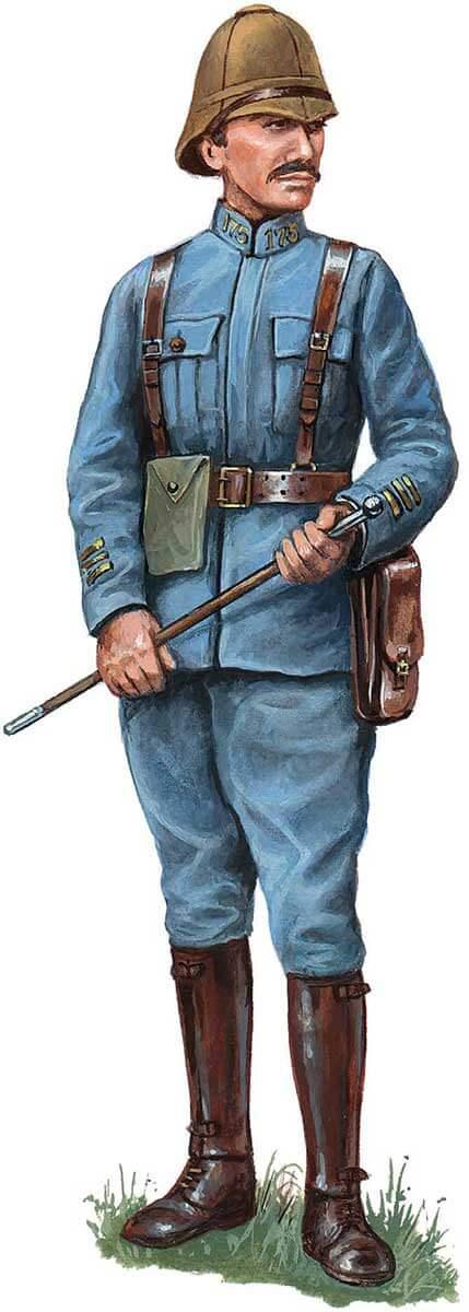 униформа французской линейной пехоты