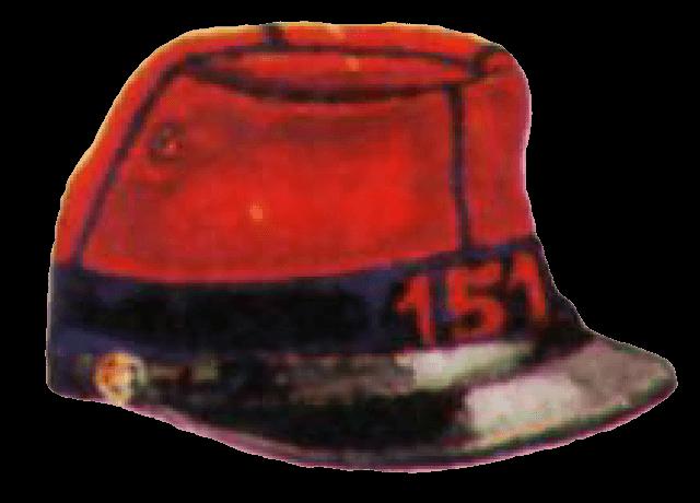 Кепи французского пехотинца