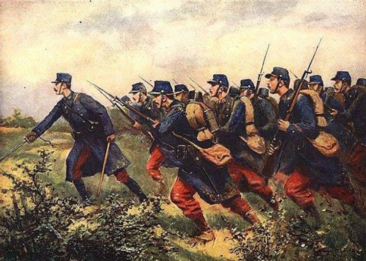 французская пехота в Первой мировой войне