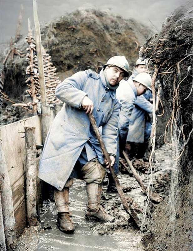 линейная пехота Франции в первой мировой войне