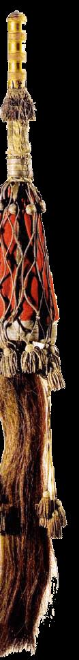 Подвес к поясу («черкесскомй шарфу») офицера л.-гв. Кавказско-Горского полуэскадрона.