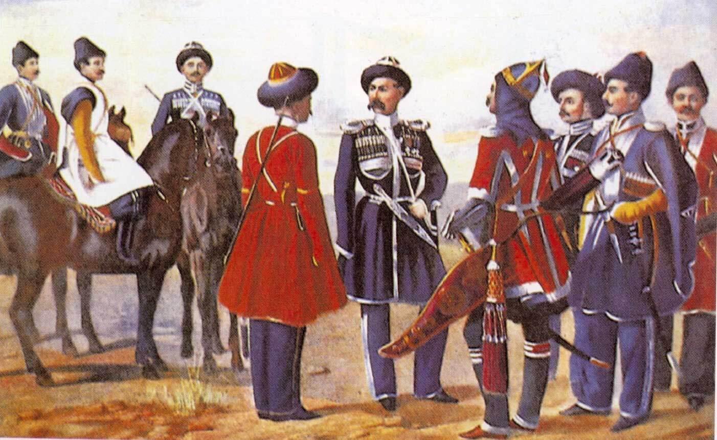Униформа Собственного Его Императорского Величества Конвоя