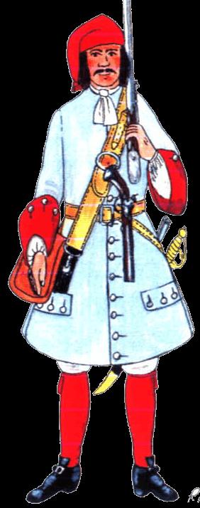 Униформа пехоты Савойского герцогства