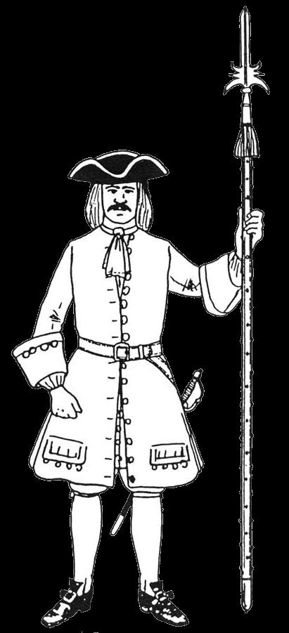униформа сержанта пехоты Савойского герцогства