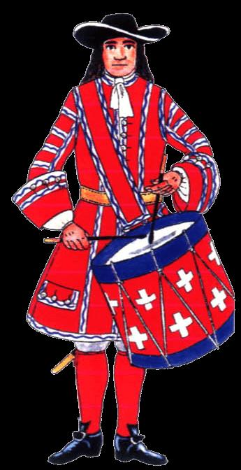 униформа музыкантов пехоты Савойского герцогства