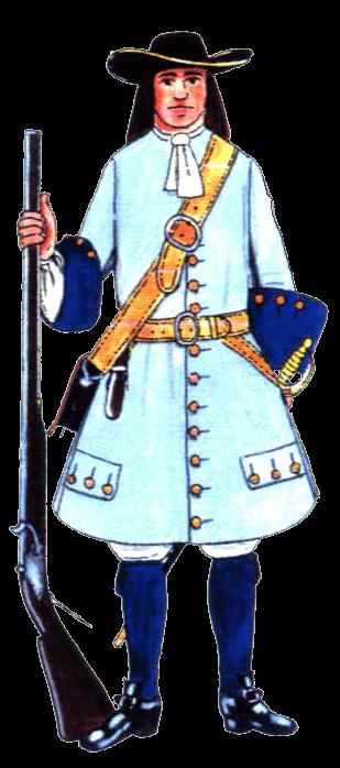 униформа линейной пехоты герцогства Саксонского