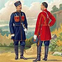 униформа Лейб-Гвардии команды крымских татар