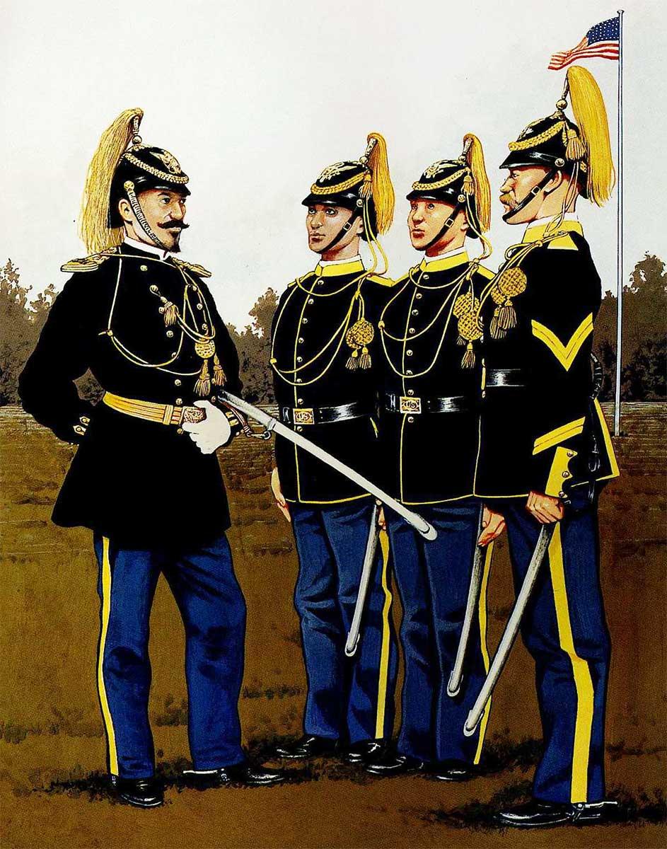 униформа кавалерии армии США