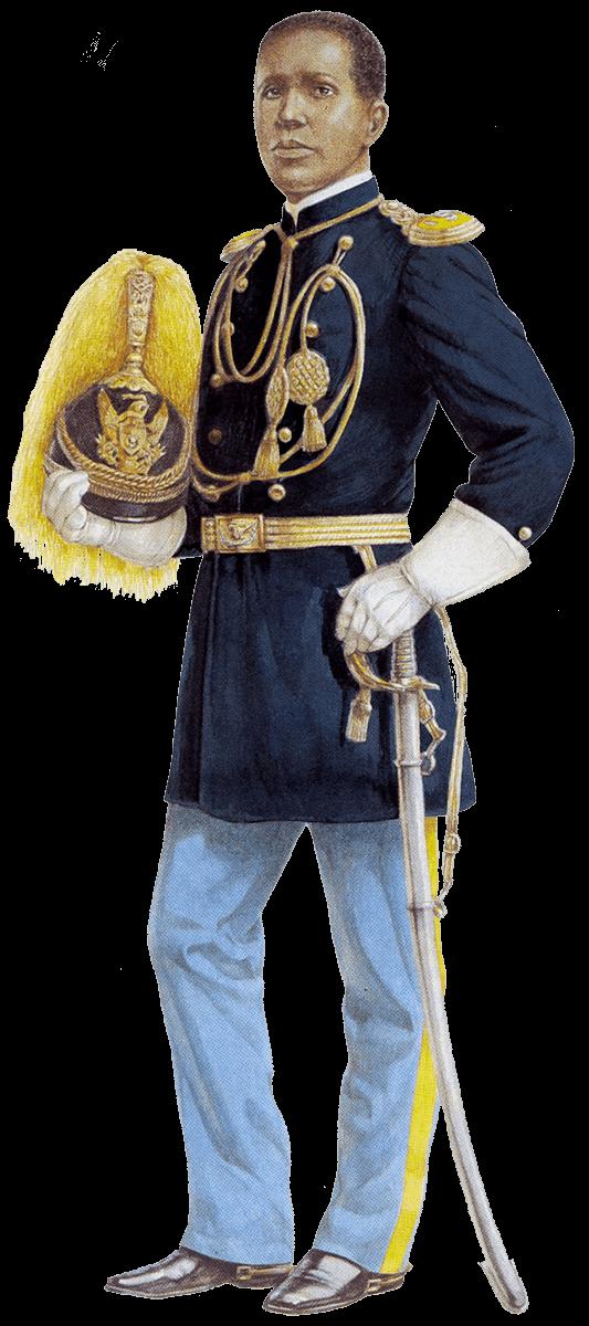 парадная униформа кавалеристов армии США