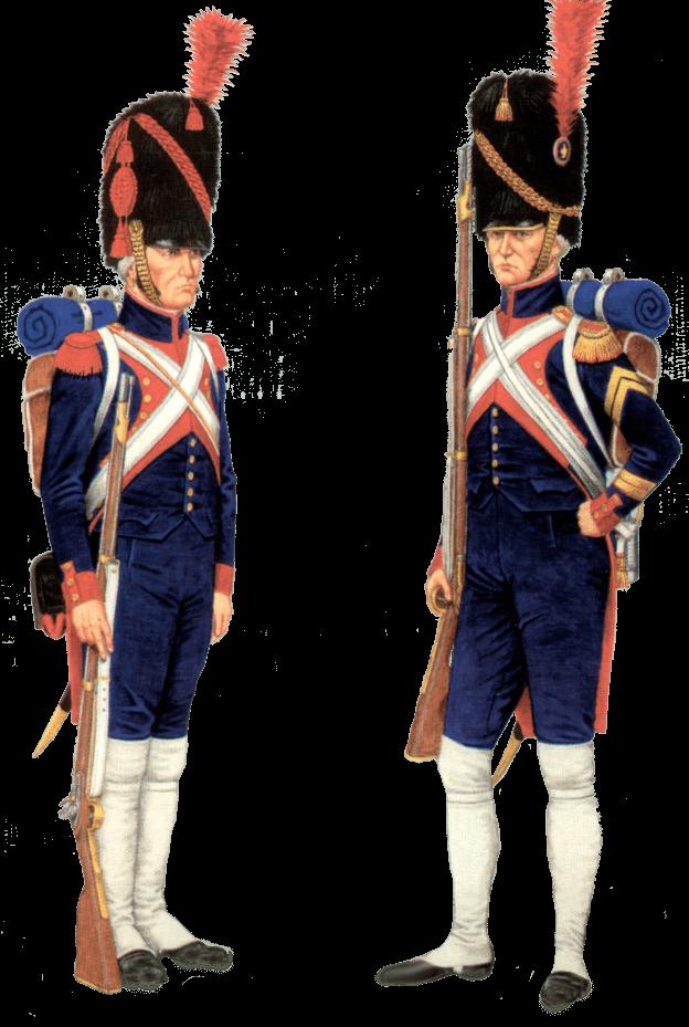 пешая артиллерия гвардии Наполеона