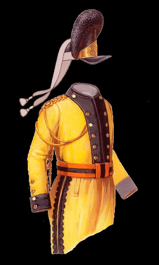 Потемкинский мундир 1783-1796 годов