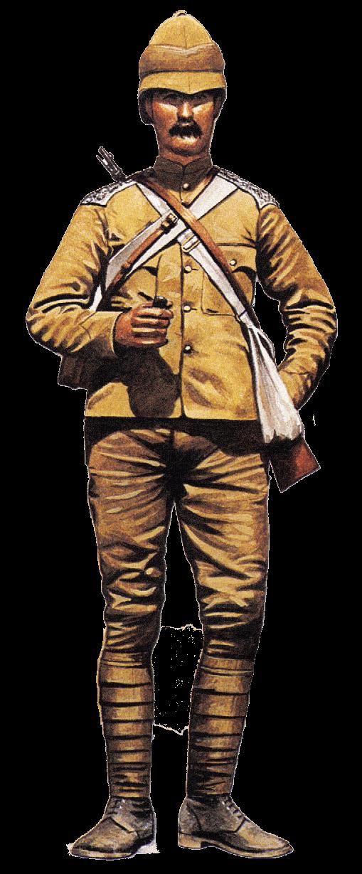 Рядовой 16 уланского полка, Тирахская кампания, 1897.