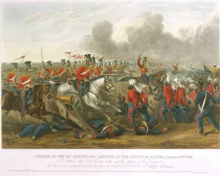 Униформа 16 Уланского полка (The 16th (Queen's) Lancers)