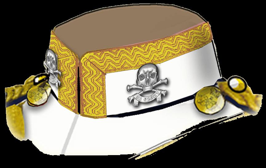 Полковая эмблема 17 уланского полка британской армии