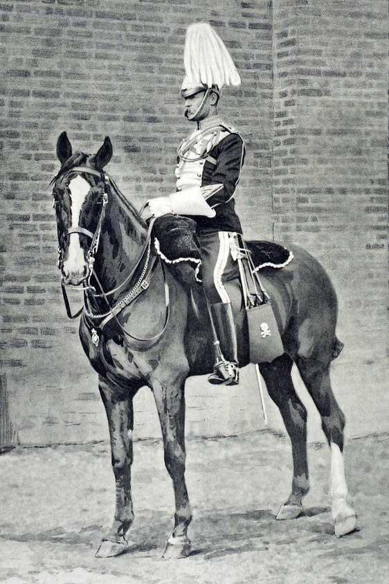 Офицер 17 уланского полка