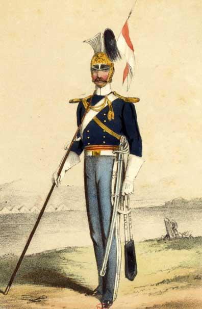Рядовой 17 уланского полка, Крым, 1854 год.