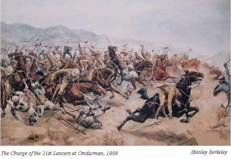 униформа 21 уланского полка (The 21st (Empress of India's) Lancers)
