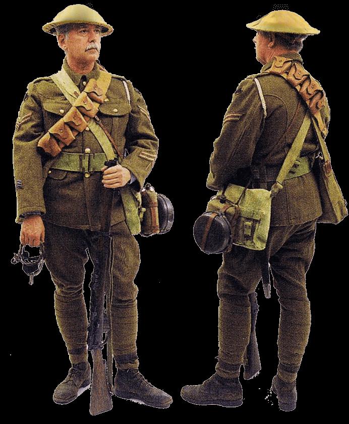 Капрал 17 уланского полка, Западный фронт, 1918 год.