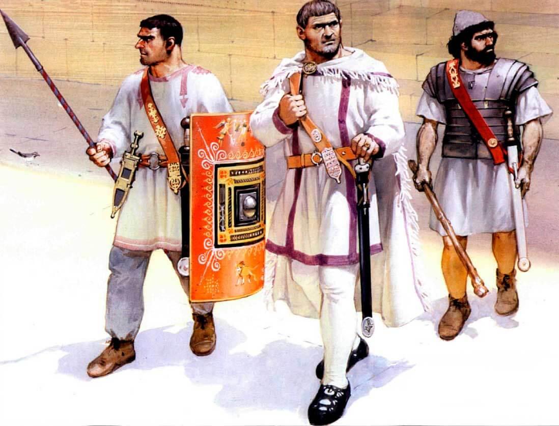 Римская пехота 236-565 годов