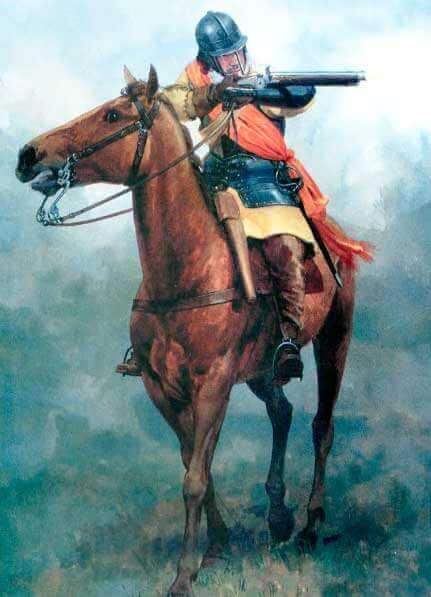 Английская конница 1588-1688 годов
