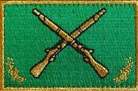 шеврон сухопутных войск Албании