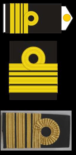 Знаки различия адмиралов и офицеров Военно-морских сил Албании