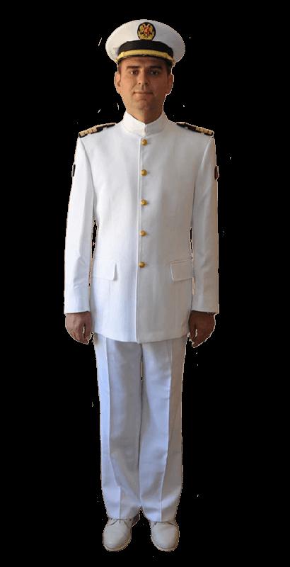 Летняя повседневная униформа офицеров Военно-морских сил Албании