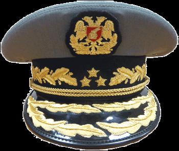 Парадная фуражка генералов сухопутных войск Албании