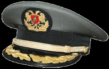 Парадная фуражка старших офицеров сухопутных войск Албании
