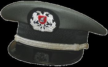 Парадная фуражка младших офицеров сухопутных войск Албании