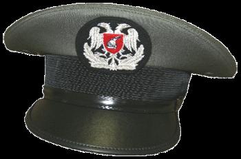 Парадная фуражка унтер-офицеров сухопутных войск Албании