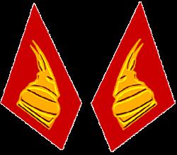 Петлицы военнослужащих сухопутных войск Албании