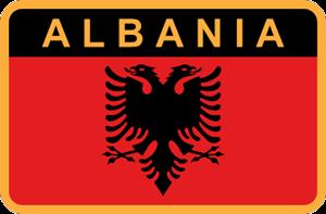Парадная униформа генералов и офицеров сухопутных войск вооруженных сил Албании.