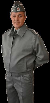 Униформа офицеров сухопутных войск Албании