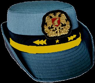 Парадная шляпа женщин-генералов сухопутных войск Албании