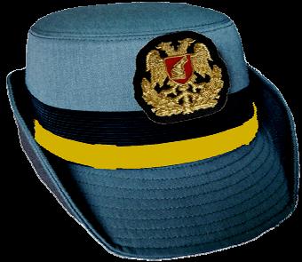 Парадная шляпа старших офицеров-женщин сухопутных войск Албании