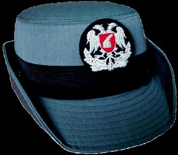 Парадная шляпа унтер-офицеров-женщин сухопутных войск Албании