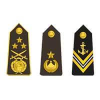 Знаки различия ВМС Алжира после 1985 года