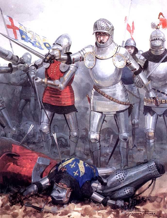 снаряжение английских рыцарей 1400-1500 годов