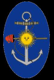 Знак на головной убор морских пехотинцев Аргентины